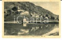 1930 ca LIGONCHIO DI SOTTO (RE) Veduta panoramica *Cartolina postale FP NV