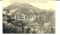 1915 COLLAGNA (RE) Veduta panoramica del Monte VENTASSO *Cartolina postale FP VG