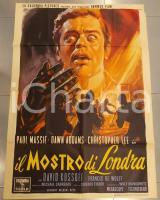 1960 IL MOSTRO DI LONDRA Two faces of Dr. Jekyll HAMMER Terence FISHER Manifesto