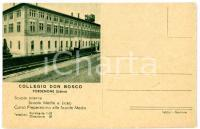 1958 PORDENONE Veduta Collegio Don Bosco *Cartolina VINTAGE - FP NV